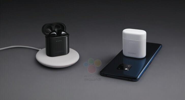 Huawei bringt kabellose Ohrhörer in bekanntem Design - lassen sich kabellos mit Smartphone laden