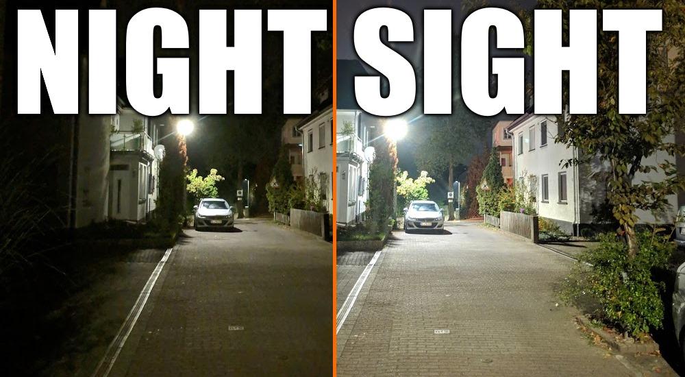 """[APK Download] Unterschied wie Tag und Nacht: Mod aktiviert """"Night Sight"""" bei Pixel-Kamera"""