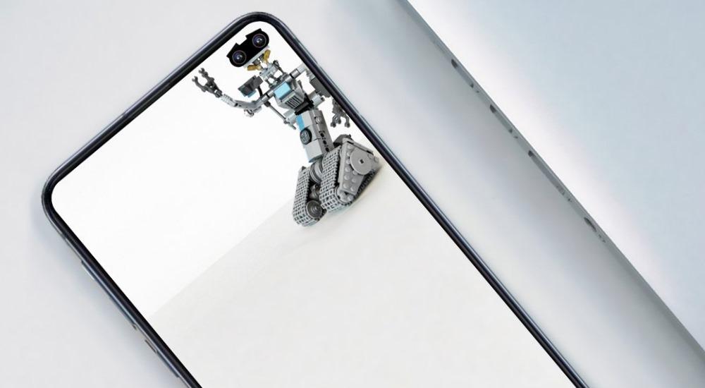 Clevere Wallpaper, die das Kamera-Loch des Galaxy S10 nutzen