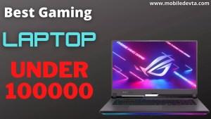 Best Gaming Laptop Under 100000