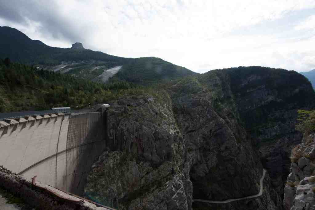 Breakwater of Vajont