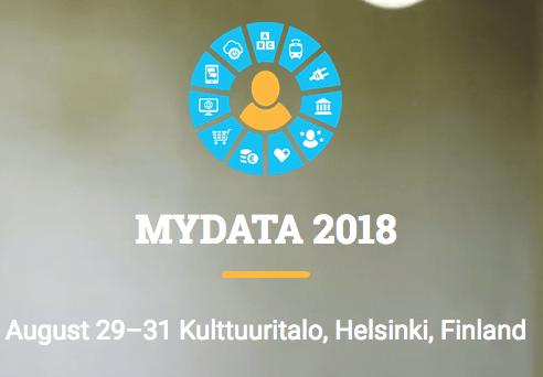 MyData 2018 - August 29 - Helsinki