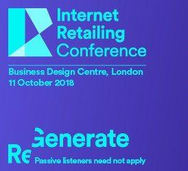 Internet Retailing Conference - October 11, London