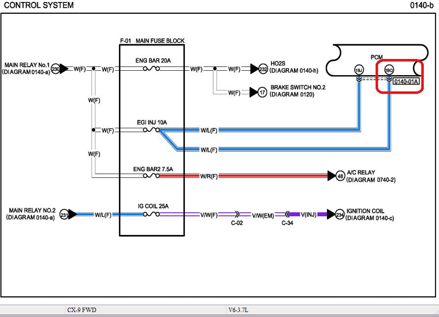Эмулятор катализатора Mazda CX-9 (2009)