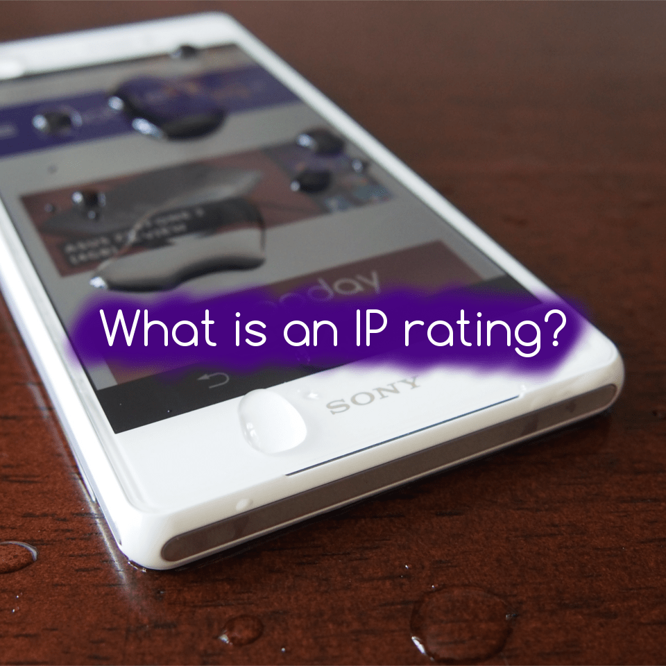 What is an IP rating?