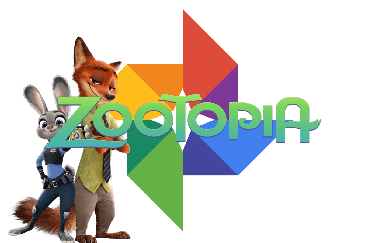 Zoogle Photos : Google Photos in Zootopia