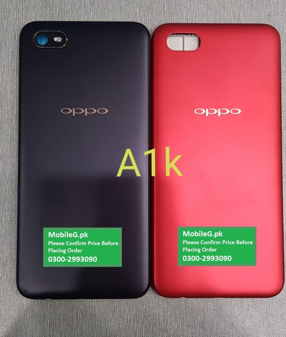 Oppo A1K Complete Housing Back & Middle Frame Buy In Pakistan