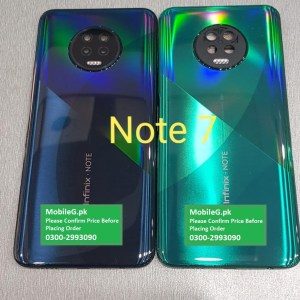 Infinix Note 7 Back Cover Back Pati Only