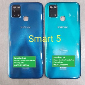 Infinix Smart 5 Complete Housing Back Case & Middle Frame Buy In Pakistan