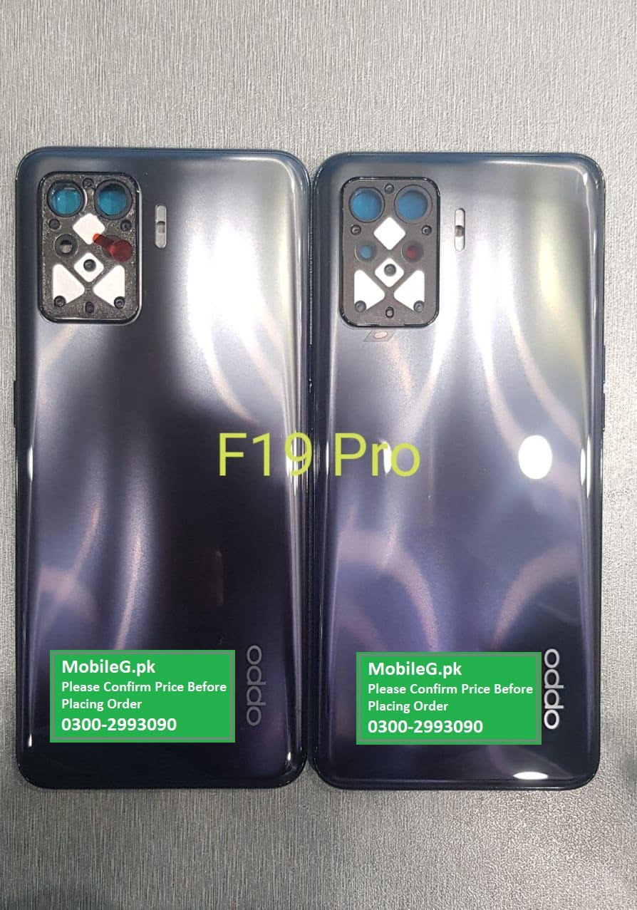 Oppo F19 Pro Complete Housing Back Case & Middle Frame Buy In Pakistan