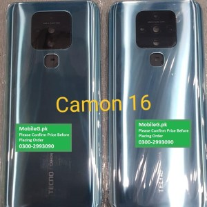 Tecno Camon 16 Complete Housing Back Case & Middle Frame Buy In Pakistan