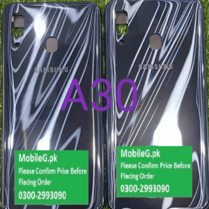 Samsung A30 Complete Housing Back Case & Middle Frame Buy In Pakistan