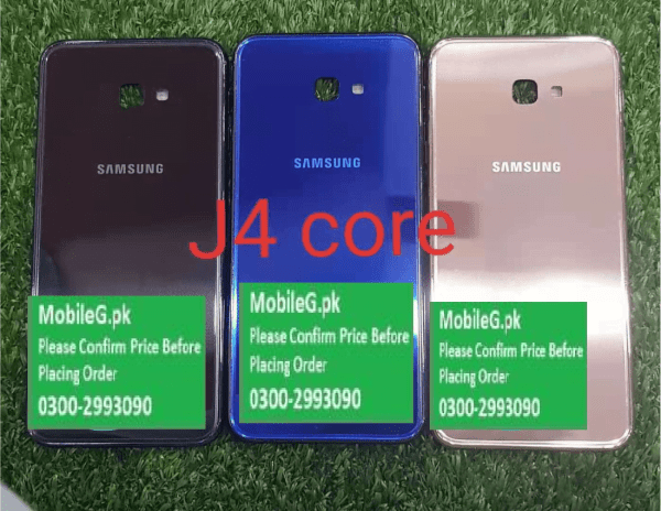 Samsung J4 Core Complete Housing Back Case & Middle Frame Buy In Pakistan