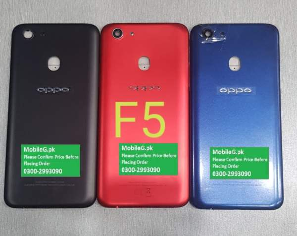 Oppo F5 Complete Housing-Casing With Middle Frame Buy In Pakistan
