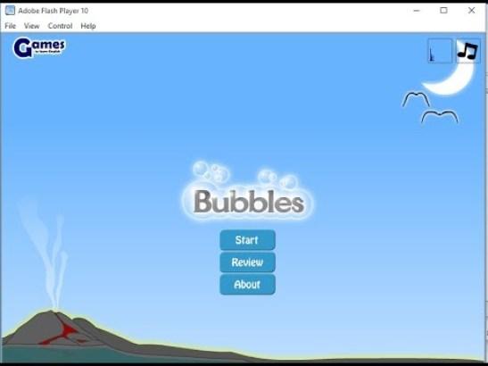 لعبة Grammar Bubbles