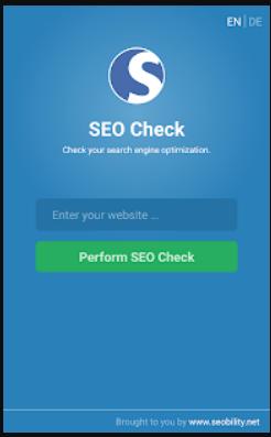 تحميل تطبيق SEO Check