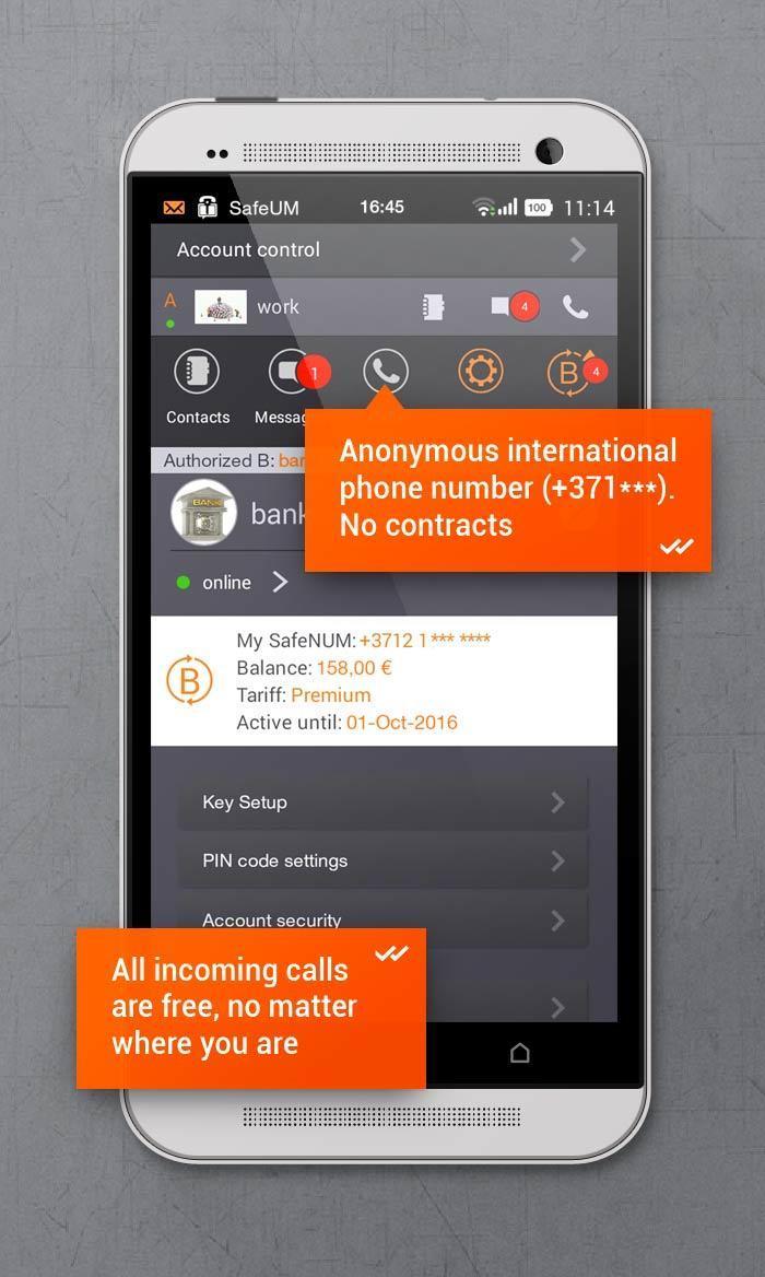 تطبيق Secure messenger SafeUM