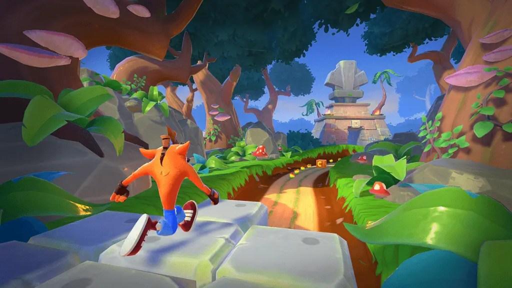 Crash Bandicoot On the Run  Graphics