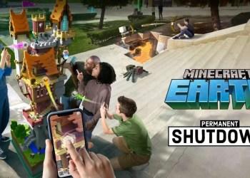 Minecraft Earth Closing Down