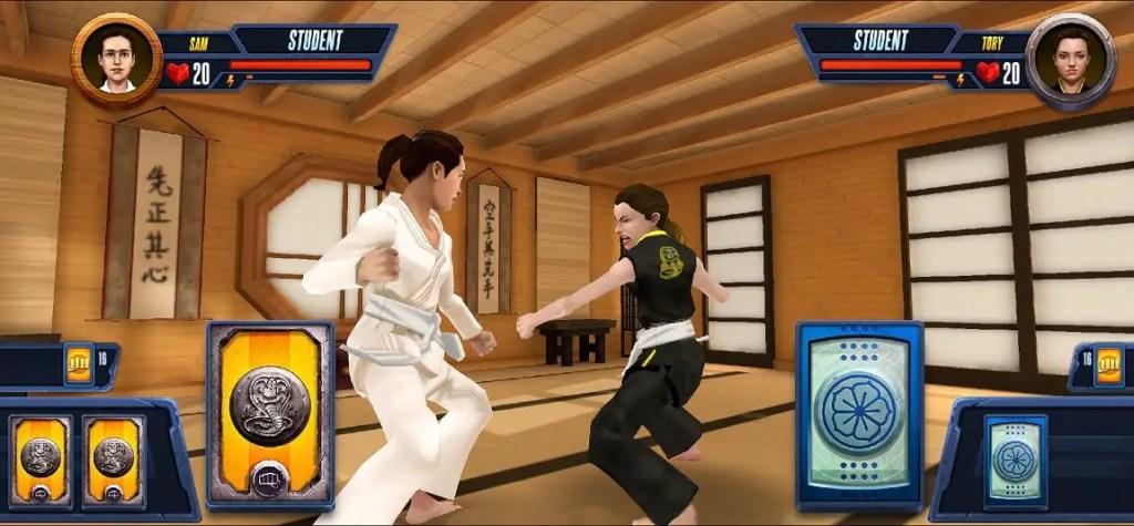 Cobra Kai Mobile Game Screenshot