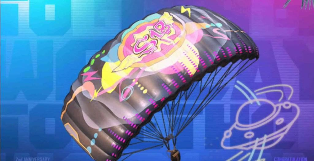 PUBG Mobile Ace Parachute