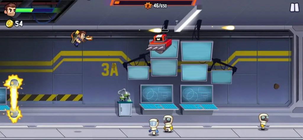 Jetpack Joyride 2 Gameplay Image