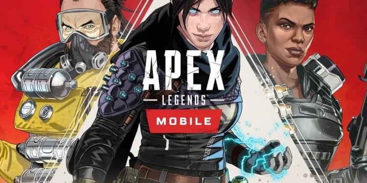 Mobile version of apex legends