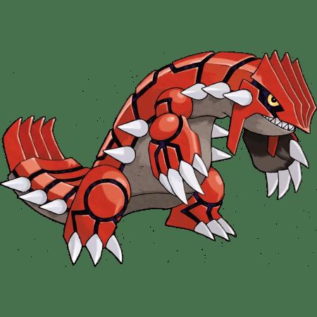 Use Groudon to fight Registeel