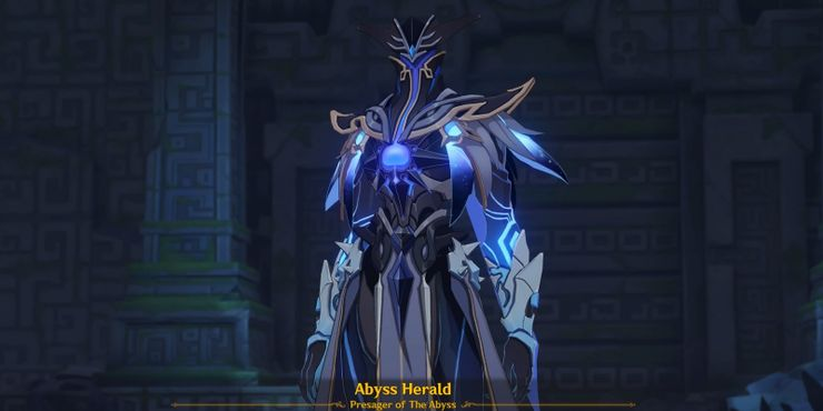 Abyss Herald looking at you.