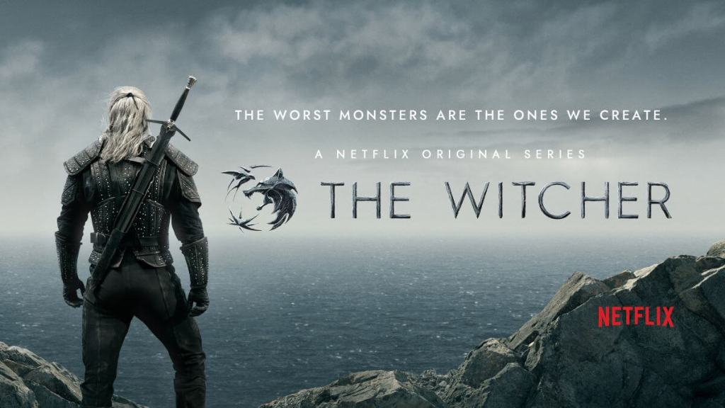 The witcher series on Netflix