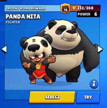Brawl Star Skin -  Panda Nita