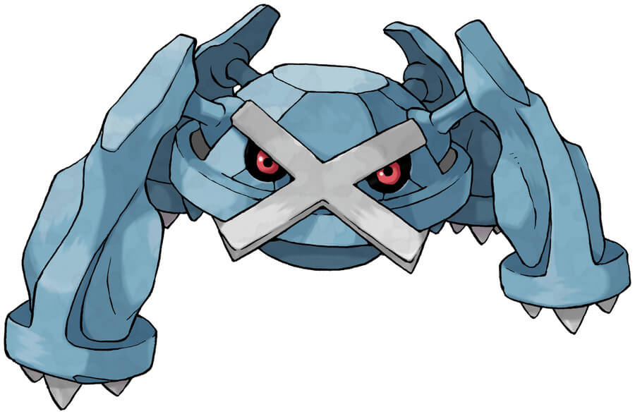 The four-legged Metagross in all its glory.
