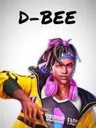 d bee free fire