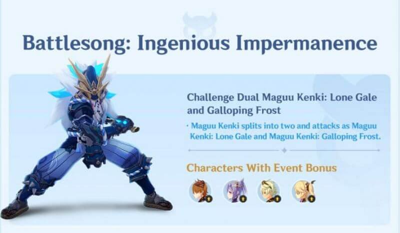 Legend Of The Vagabond Sword Event Maguu Kenki