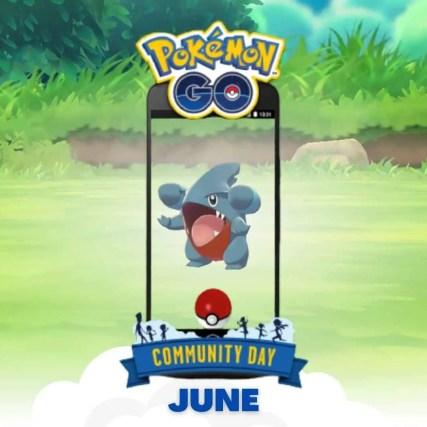 pokemon go community days june gible