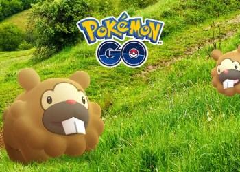 Pokémon go bidoof