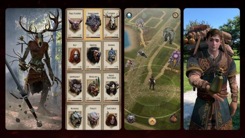 Witcher Monster Slayer Gameplay