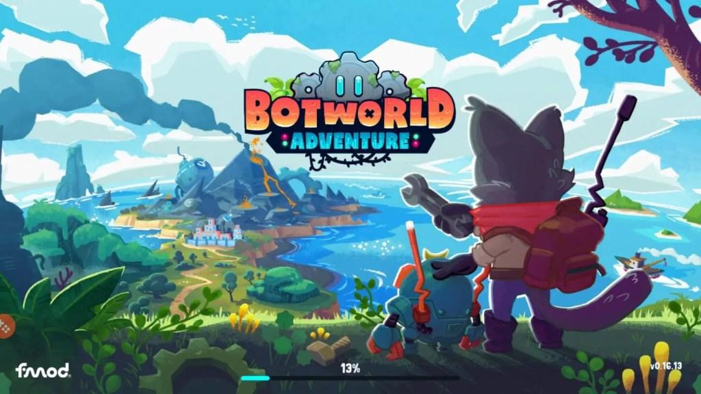 Botworld Adventure Loading Page