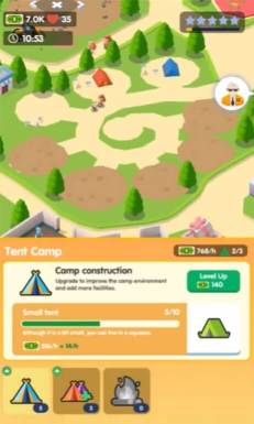 Campground Tycoon Gameplay