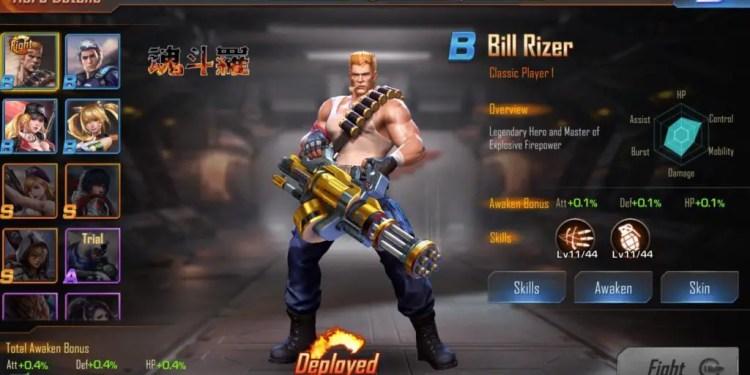 Contra Returns Heroes