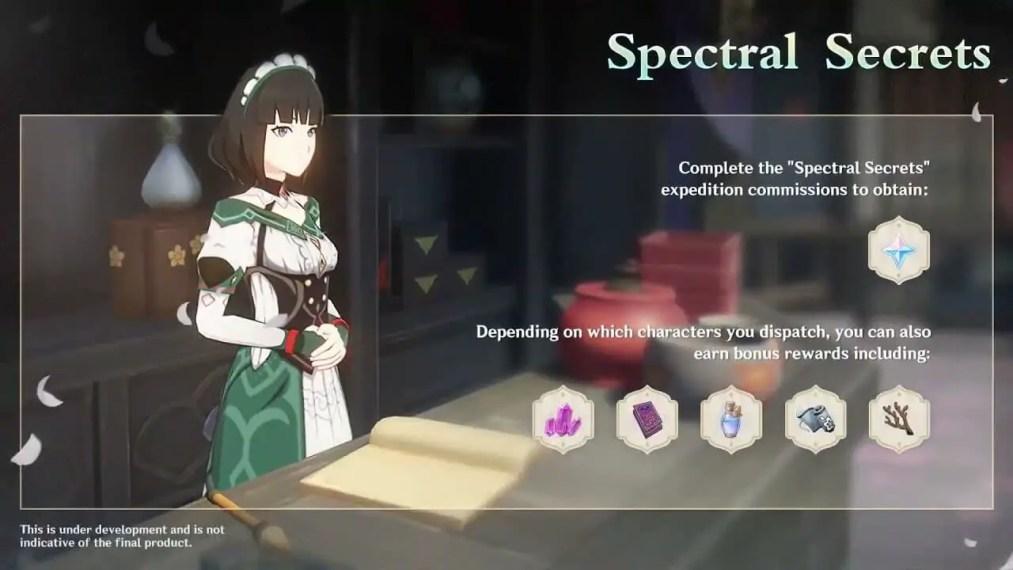 genshin impact spectral secrets
