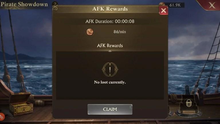 AFK Rewards in Guns of Glory