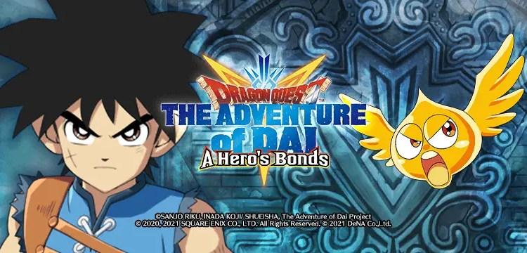 Dragon Quest The Adventure of Dai: A Hero's Bonds cover