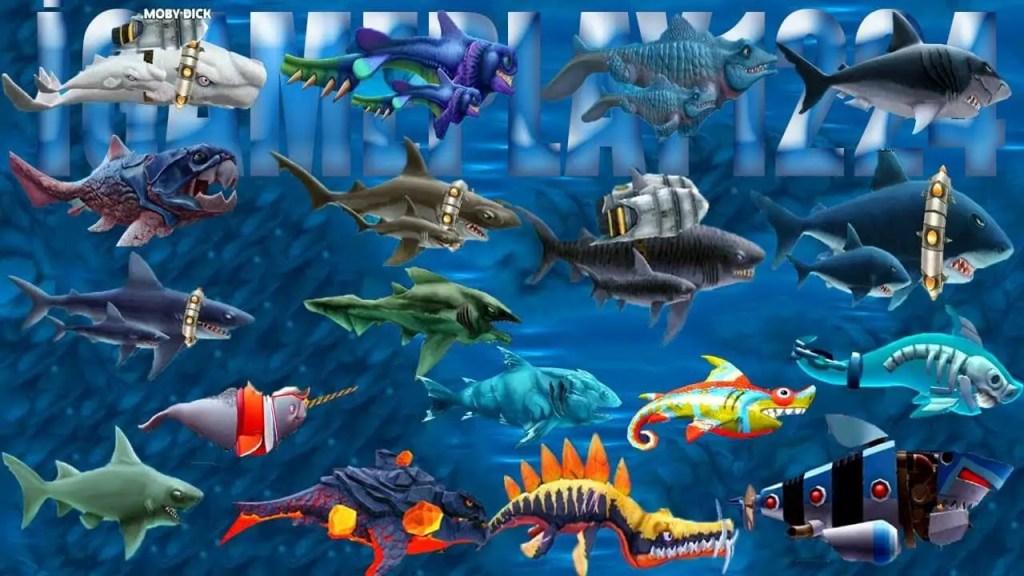 Hungry Shark Evolution Sharks ss
