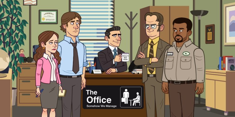 the office game cover