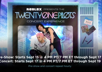 Twenty-One Pilots to perform a concert on Roblox.