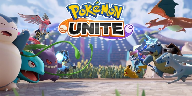 Pokemon unite cover