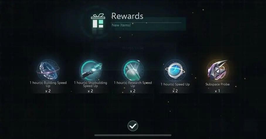 Stellaris: Galaxy Command Codes Rewards
