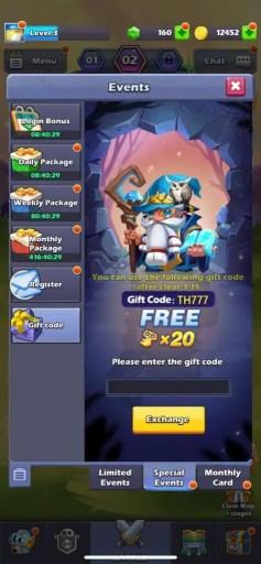 Tap Tap Heroes Codes