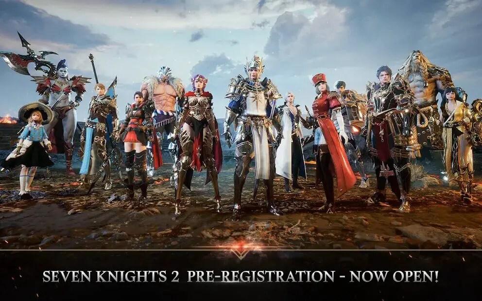 Seven Knights 2 Pre-registration